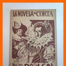 Libros antiguos: DOÑA SOL - JOSE Mª PEMAN - LA NOVELA CORTA Nº19. Lote 207226047