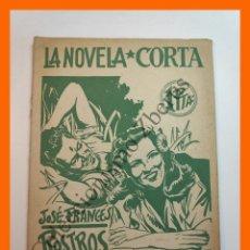 Libros antiguos: ROSTROS EN LA NIEBLA - JOSE FRANCES - LA NOVELA CORTA Nº27. Lote 207226385