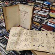 Libros antiguos: LECCIONES DE MÁQUINAS DE VAPOR . MAQUINISTAS NAVALES. JOSÉ QUINTANA - JOAQUÍN ORTIZ. 1903. LÁMINAS. Lote 207242446