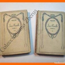 Libros antiguos: SANS FAMILLE - HECTOR MALOT (2 TOMOS). Lote 207261927