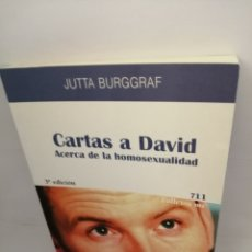 Libros antiguos: CARTAS A DAVID. ACERCA DE LA HOMOSEXUALIDAD. Lote 207264261