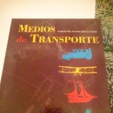 Libros antiguos: MEDIOS DE TRANSPORTE - AUTOMOVILES AVIONES BAROS TRENES -VER FOTOS. Lote 207307401
