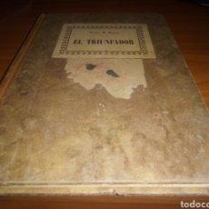 Libros antiguos: LIBRO DE 1928. EL PENSADOR. PETER B. LUNES. SELLO EN PORTADA CUÑO. COMPAÑÍA DE AMETRALLADORAS. Lote 207409887