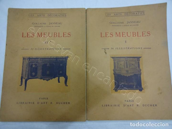 LES MEUBLES. 2 REVISTAS MUEBLES Y ARTES DECORATIVAS. PARIS 1929. 128 ILUSTRACIONES (Libros Antiguos, Raros y Curiosos - Bellas artes, ocio y coleccionismo - Otros)