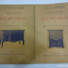 Libros antiguos: LES MEUBLES. 2 REVISTAS MUEBLES Y ARTES DECORATIVAS. PARIS 1929. 128 ILUSTRACIONES. Lote 207485173