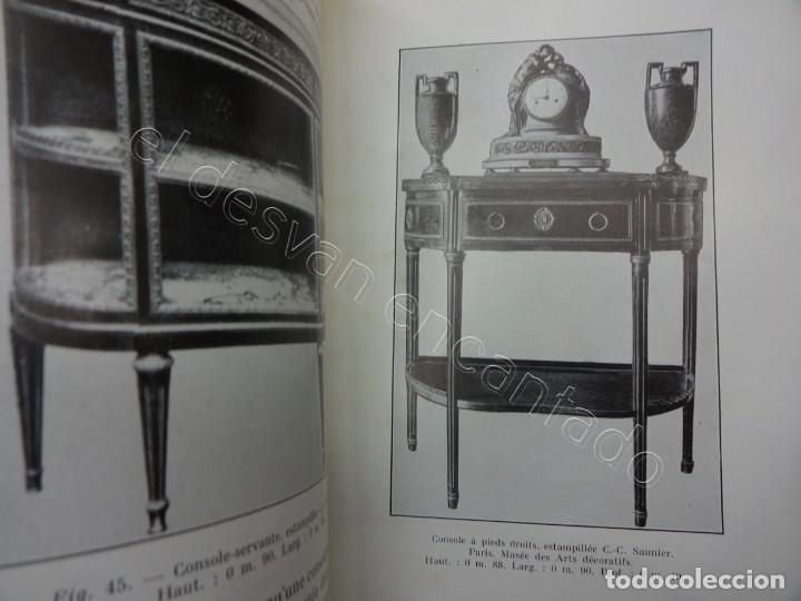 Libros antiguos: LES MEUBLES. 2 revistas muebles y artes decorativas. Paris 1929. 128 ilustraciones - Foto 7 - 207485173