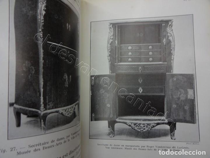 Libros antiguos: LES MEUBLES. 2 revistas muebles y artes decorativas. Paris 1929. 128 ilustraciones - Foto 8 - 207485173