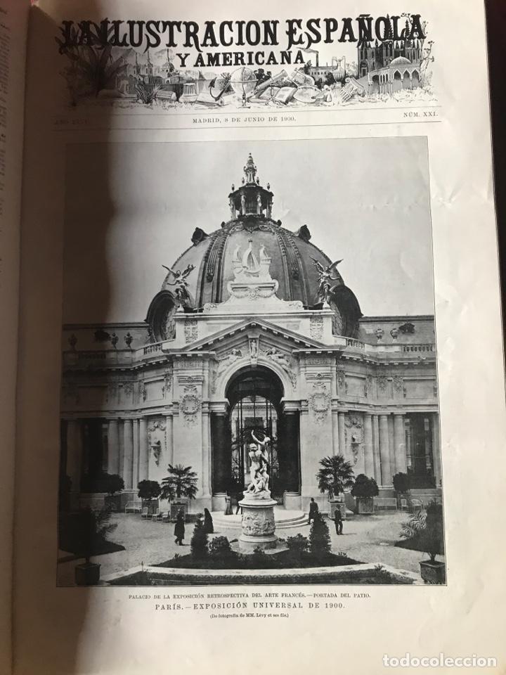 Libros antiguos: La ilustración española y americana año 1900 - Foto 2 - 207500126