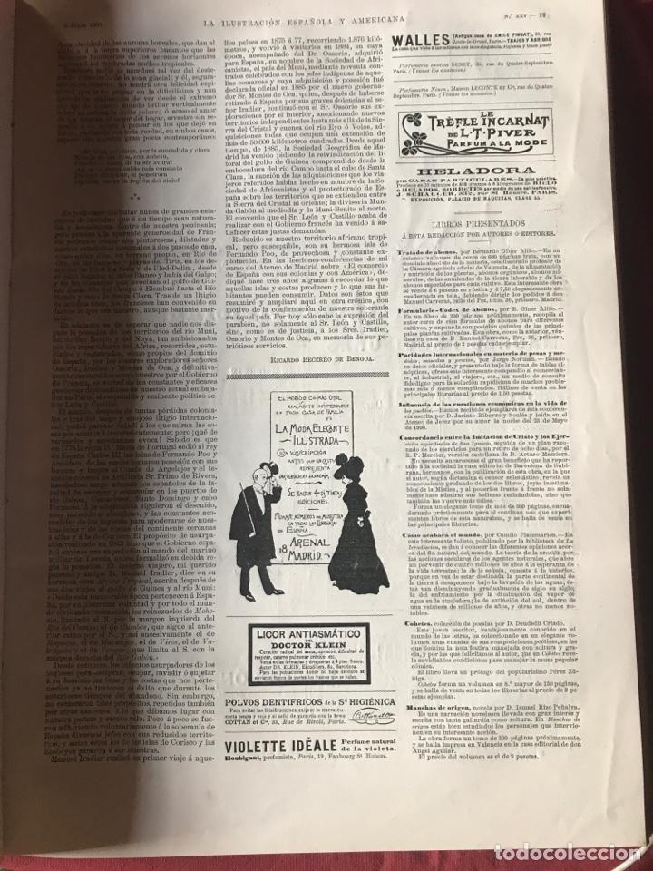 Libros antiguos: La ilustración española y americana año 1900 - Foto 3 - 207500126