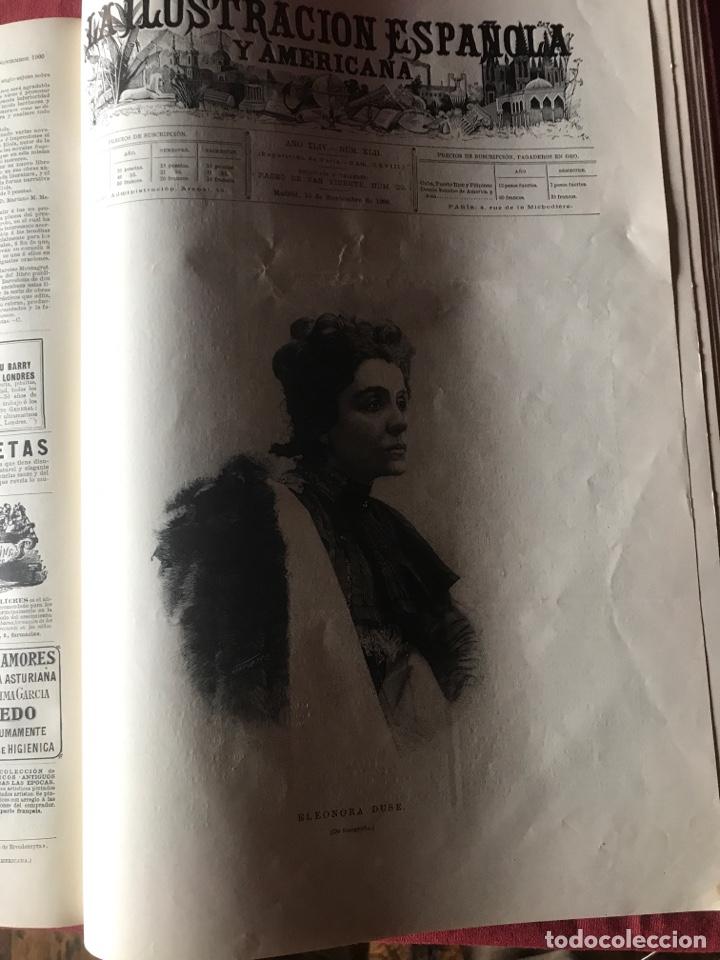 Libros antiguos: La ilustración española y americana año 1900 - Foto 6 - 207500126