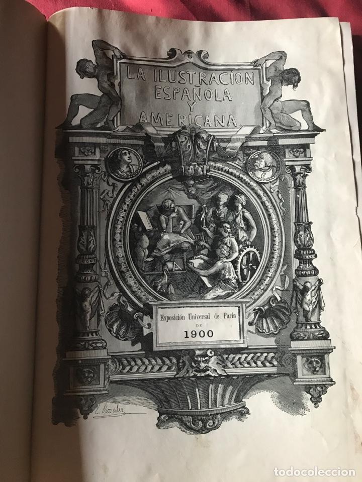 LA ILUSTRACIÓN ESPAÑOLA Y AMERICANA AÑO 1900 (Libros Antiguos, Raros y Curiosos - Bellas artes, ocio y coleccionismo - Otros)