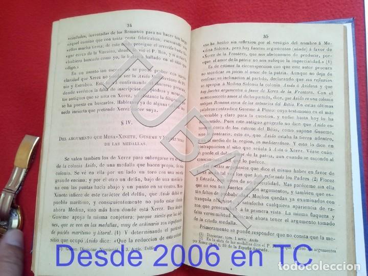 Libros antiguos: TUBAL LA SIDONIA BETICA 1864 FERNANDO DE CEVALLOS SEVILLA U26 - Foto 3 - 207525526