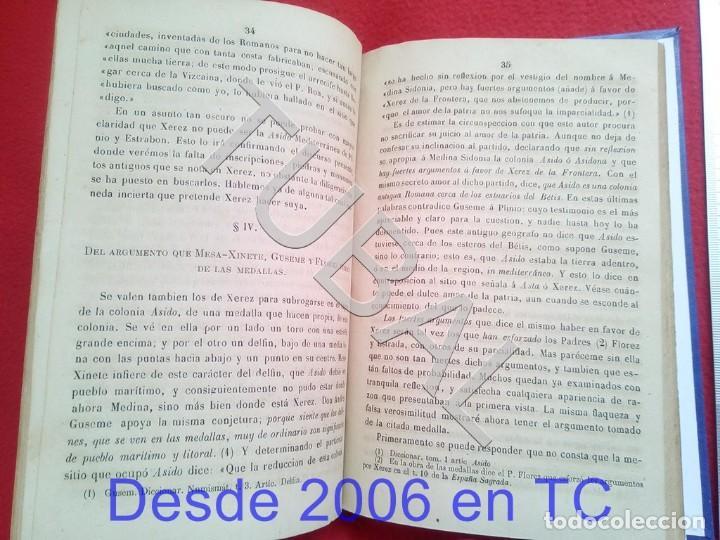 Libros antiguos: TUBAL LA SIDONIA BETICA 1864 FERNANDO DE CEVALLOS SEVILLA U26 - Foto 4 - 207525526