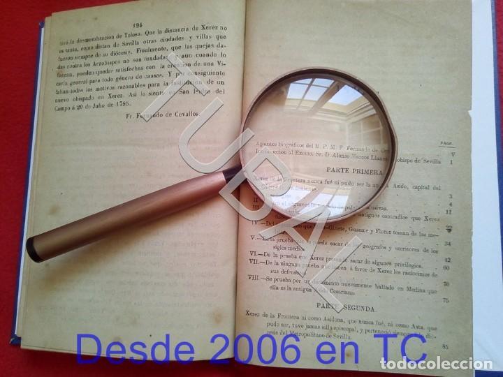 Libros antiguos: TUBAL LA SIDONIA BETICA 1864 FERNANDO DE CEVALLOS SEVILLA U26 - Foto 6 - 207525526