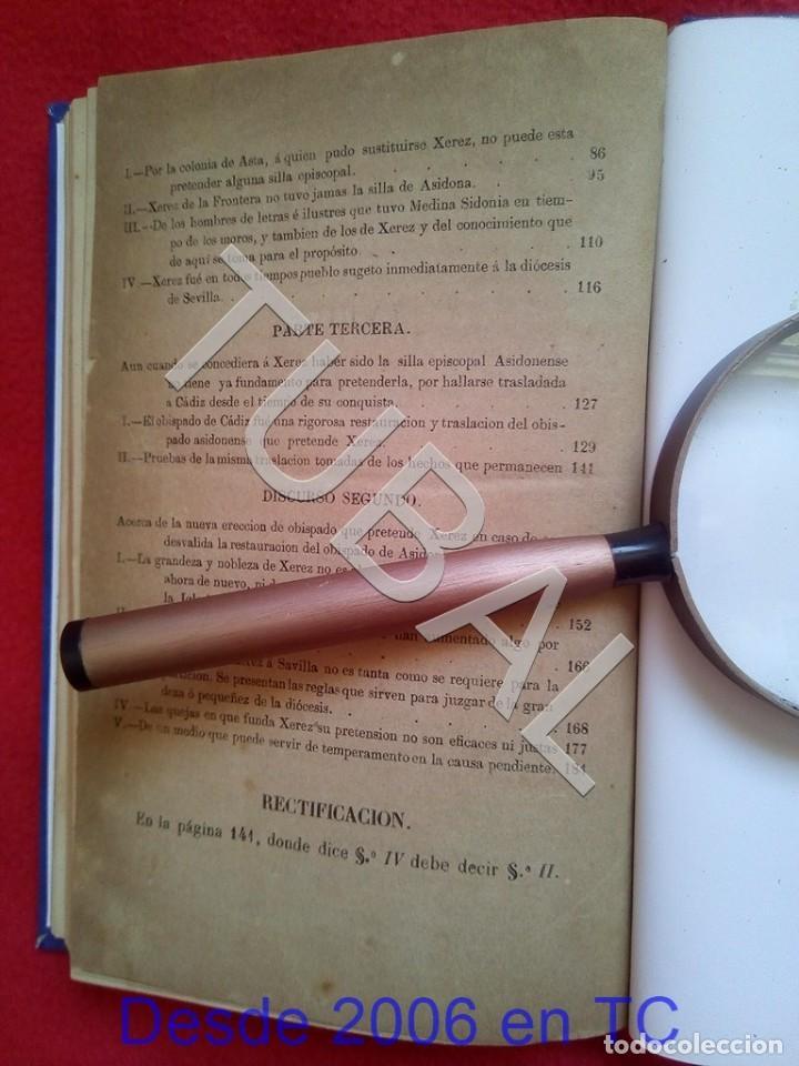 Libros antiguos: TUBAL LA SIDONIA BETICA 1864 FERNANDO DE CEVALLOS SEVILLA U26 - Foto 7 - 207525526