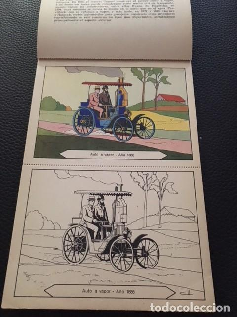Libros antiguos: BLOQUES PARA PINTAR. AUTOMOVILES. AÑOS 30. - Foto 2 - 207532101