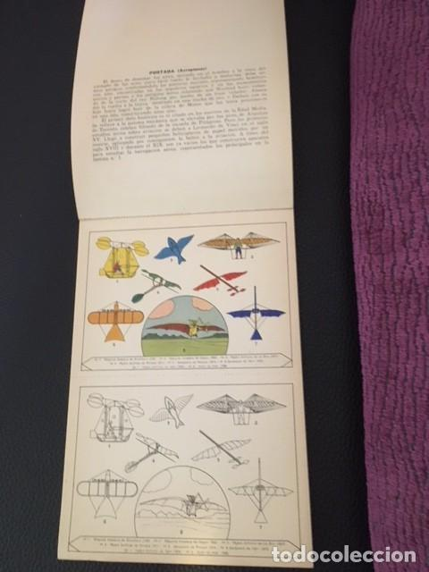 Libros antiguos: BLOQUES PARA PINTAR. AEROPLANOS. AÑOS 30. - Foto 2 - 207539650