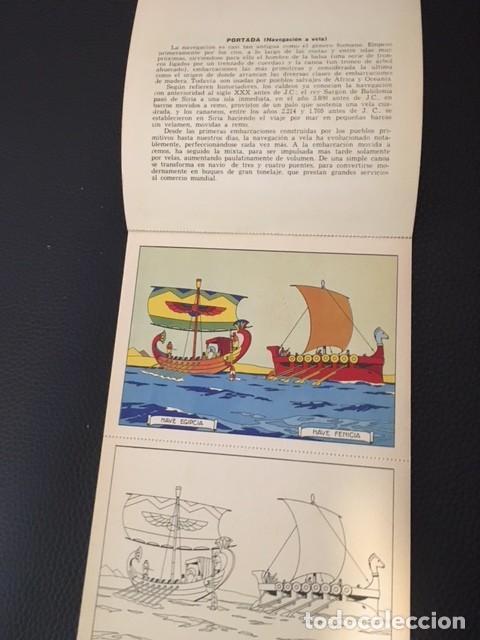 Libros antiguos: BLOQUES PARA PINTAR. NAVEGACIÓN A VELA. AÑOS 30 - Foto 2 - 207541813