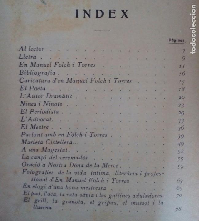 Libros antiguos: LOTE 2 VOLUMENES ELS HOMES DÈN PATUFET. VOL II Y VOLIV. JUNCEDA Y MANUEL FOLCH Y TORRES. - Foto 6 - 207612863