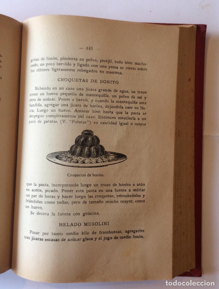 Libros antiguos: De cocina: las tres cocinas Alonso-Duro, María Luisa 1944 - Foto 3 - 207614678