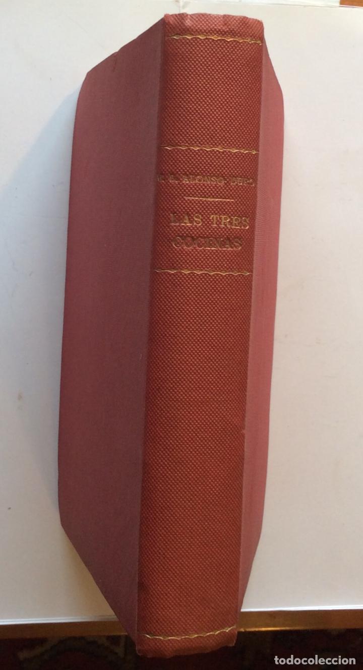 DE COCINA: LAS TRES COCINAS ALONSO-DURO, MARÍA LUISA 1944 (Libros Antiguos, Raros y Curiosos - Cocina y Gastronomía)