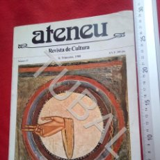 Libros antiguos: TUBAL ATENEU 15 REVISTA DE CULTURA U29. Lote 207636228