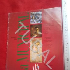 Libros antiguos: TUBAL LA MUNICIPAL 7 ANTONI TAPIES REVISTA INCLUYE ALMANAQUE MARTA BALAGUER U29. Lote 207637026