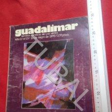 Libros antiguos: TUBAL GUADALIMAR 13 REVISTA ARTE 1976 U29. Lote 207637242