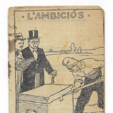 Libros antiguos: L'AMBICIÓS. COL. EN PATUFET Nº-25. Lote 207757438