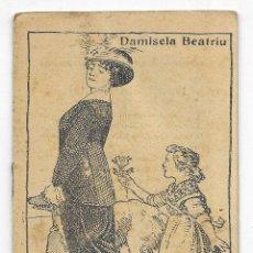 Libros antiguos: DAMISELA BEATRIU. COL. EN PATUFET Nº- 64. Lote 207758102