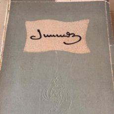 Libros antiguos: LIBRO JUNCEDA 1881-1948. Lote 207950600