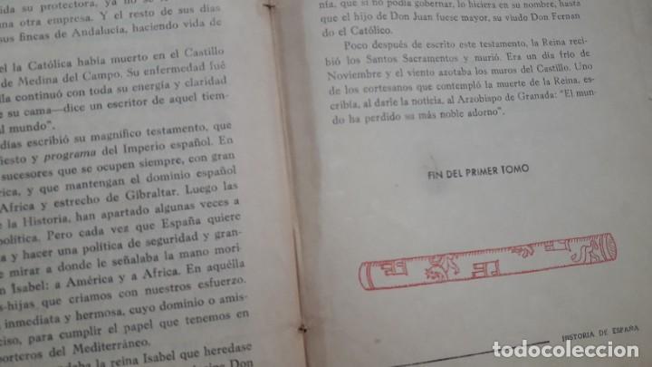 Libros antiguos: LA HISTORIA DE ESPAÑA CONTADA CON SENCILLEZ, J.Mª Pemán, 1ª edición 1939. - Foto 4 - 207995182