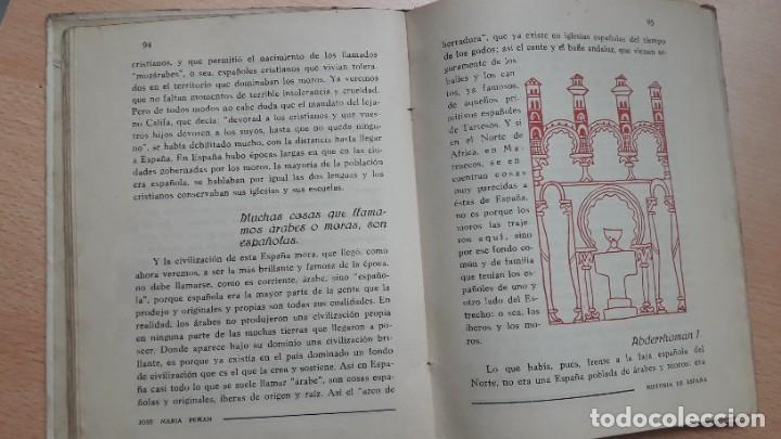 Libros antiguos: LA HISTORIA DE ESPAÑA CONTADA CON SENCILLEZ, J.Mª Pemán, 1ª edición 1939. - Foto 7 - 207995182