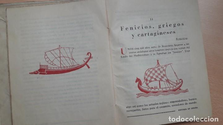 Libros antiguos: LA HISTORIA DE ESPAÑA CONTADA CON SENCILLEZ, J.Mª Pemán, 1ª edición 1939. - Foto 8 - 207995182