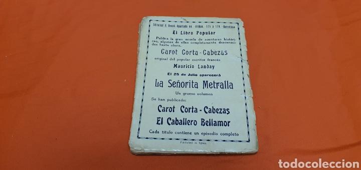 Libros antiguos: La condesa negra. Mauricio landay, el libro popular. Carot corta-cabezas. Ed. Bauzá - Barcelona 1926 - Foto 3 - 208046043