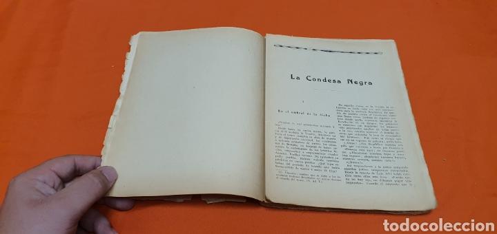 Libros antiguos: La condesa negra. Mauricio landay, el libro popular. Carot corta-cabezas. Ed. Bauzá - Barcelona 1926 - Foto 7 - 208046043