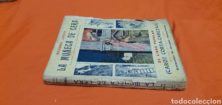 Libros antiguos: La muñeca de cera. Mauricio landay, el libro popular. Carot corta-cabezas. Ed. Bauzá -Barcelona 1926 - Foto 2 - 208047123