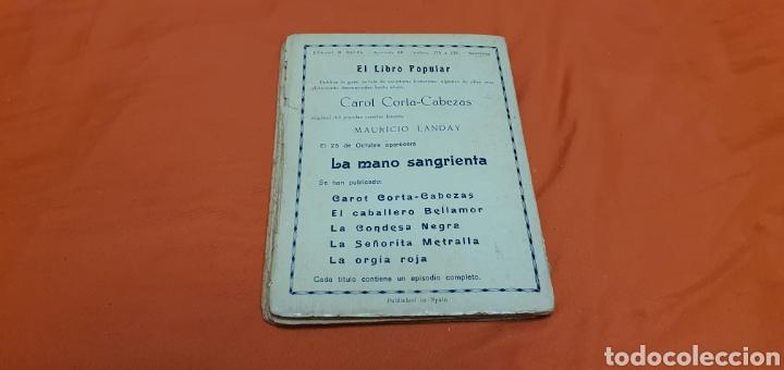 Libros antiguos: La muñeca de cera. Mauricio landay, el libro popular. Carot corta-cabezas. Ed. Bauzá -Barcelona 1926 - Foto 5 - 208047123