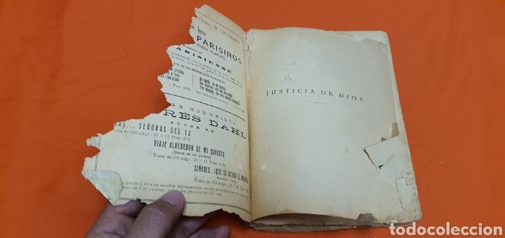 Libros antiguos: Justicia de dios. Mauricio landay, el libro popular. Carot corta-cabezas. Ed. Bauzá - Barcelona 1928 - Foto 2 - 208049462