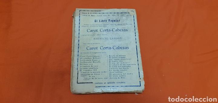 Libros antiguos: Justicia de dios. Mauricio landay, el libro popular. Carot corta-cabezas. Ed. Bauzá - Barcelona 1928 - Foto 7 - 208049462