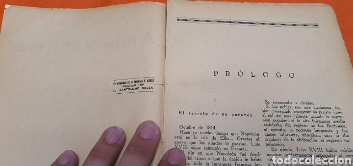 Libros antiguos: Amor sublime, Mauricio landay, el libro popular. Carot corta-cabezas. Ed. Bauzá - Barcelona 1928 - Foto 4 - 208049922