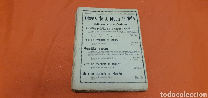 Libros antiguos: Amor sublime, Mauricio landay, el libro popular. Carot corta-cabezas. Ed. Bauzá - Barcelona 1928 - Foto 8 - 208049922