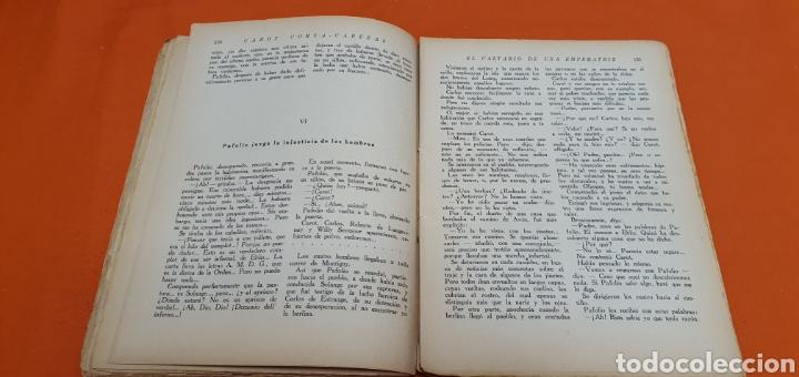 Libros antiguos: El calvario de una emperatriz, Mauricio landay, popular. Carot corta-cabezas. Bauzá - Barcelona 1927 - Foto 5 - 208051007