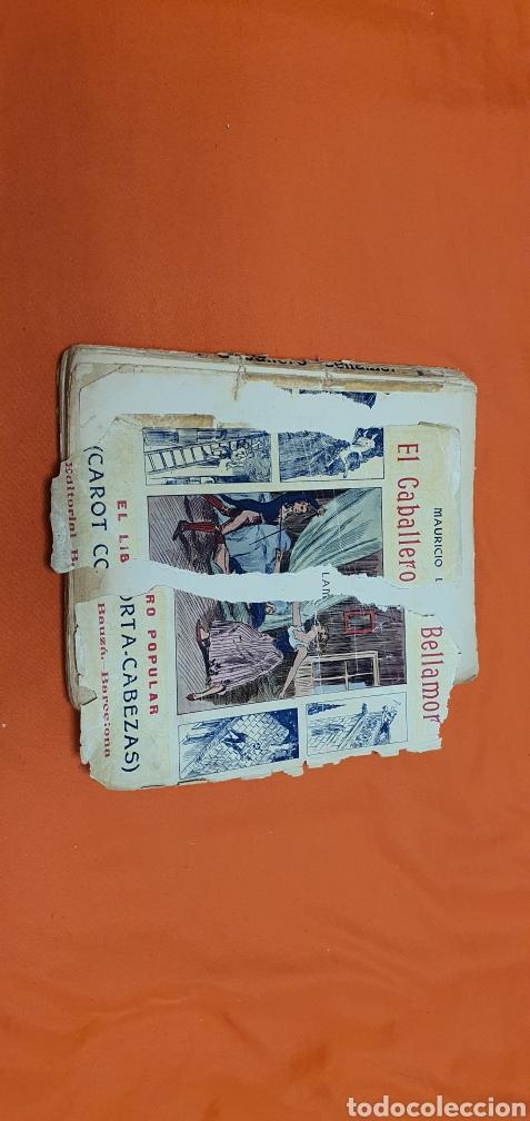Libros antiguos: El caballero bellamor, Mauricio landay, lib.popular. Carot corta-cabezas. Ed. Bauzá - Barcelona 1926 - Foto 2 - 208051328