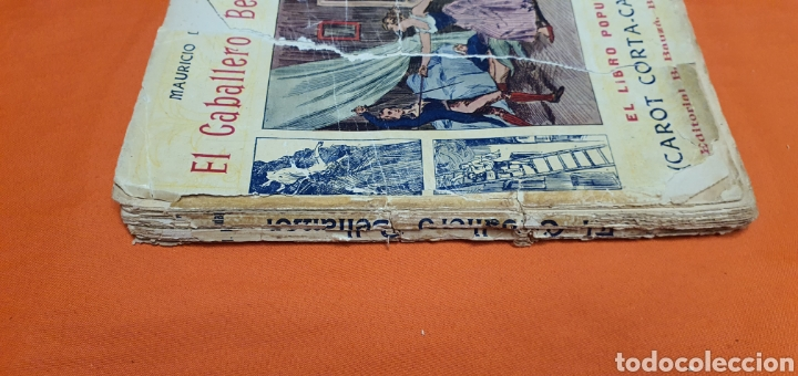 Libros antiguos: El caballero bellamor, Mauricio landay, lib.popular. Carot corta-cabezas. Ed. Bauzá - Barcelona 1926 - Foto 3 - 208051328