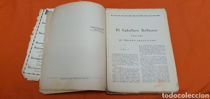 Libros antiguos: El caballero bellamor, Mauricio landay, lib.popular. Carot corta-cabezas. Ed. Bauzá - Barcelona 1926 - Foto 4 - 208051328
