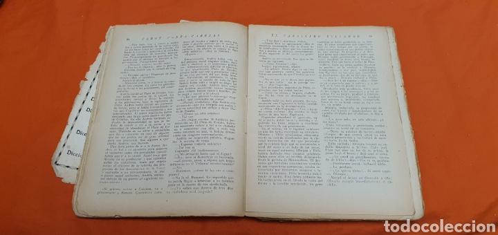 Libros antiguos: El caballero bellamor, Mauricio landay, lib.popular. Carot corta-cabezas. Ed. Bauzá - Barcelona 1926 - Foto 6 - 208051328