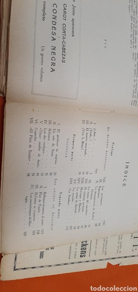 Libros antiguos: El caballero bellamor, Mauricio landay, lib.popular. Carot corta-cabezas. Ed. Bauzá - Barcelona 1926 - Foto 8 - 208051328
