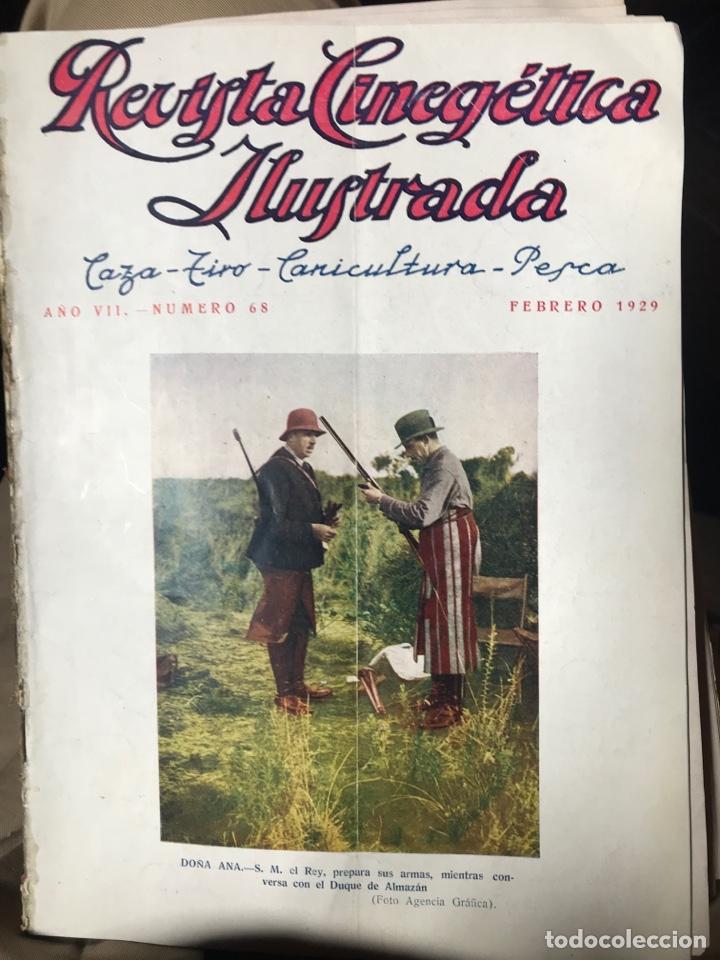 REVISTA CINEGÉTICA IJUSTRADA AÑO SÉPTIMO 1929 CAZA (Libros Antiguos, Raros y Curiosos - Bellas artes, ocio y coleccionismo - Otros)