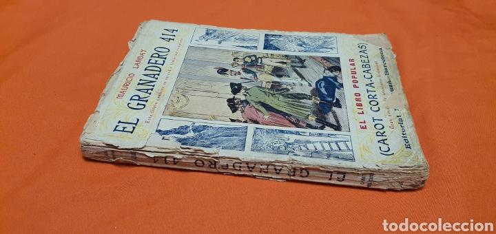 Libros antiguos: El granadero 414, Mauricio landay, el libro popular. Carot corta-cabezas. Ed. Bauzá - Barcelona 1926 - Foto 2 - 208071010